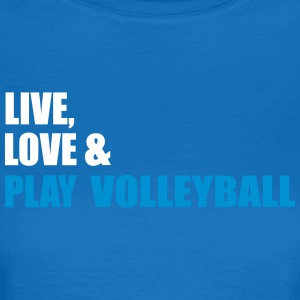 volleyball - Dame-T-shirt
