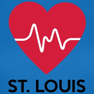 Heart St Louis - Dame-T-shirt