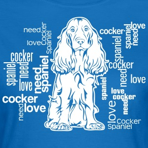 COCKER SPANIEL LOVE - Women's T-Shirt