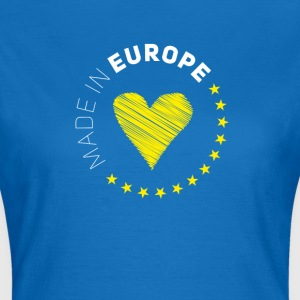 made in Europe love EU europe no brexit eurostar - Women's T-Shirt