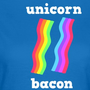 UNICORN BACON STRIPS - Women's T-Shirt