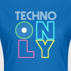 TECHNO PARTY - Dame-T-shirt