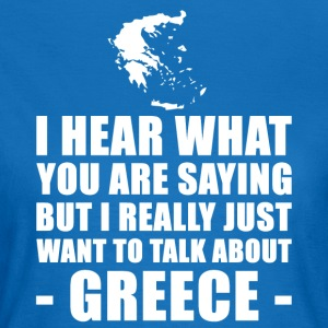 Funny Greece Vacation Gift Idea - Women's T-Shirt
