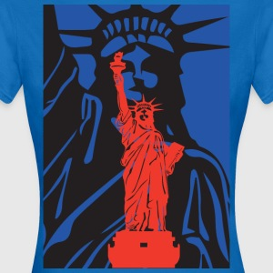 Statue of Liberty-Statue der Freiheit-USA - Frauen T-Shirt