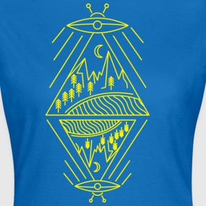UFO ALIEN - Frauen T-Shirt