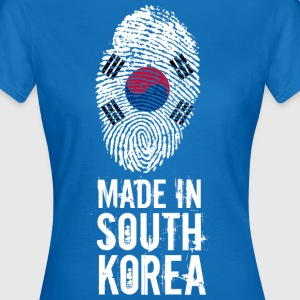 Made In Sør-Korea / Sør-Korea / 대한민국, 大韓民國 - T-skjorte for kvinner