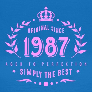 original since 1987 simply the best 30th birthday - Women's T-Shirt