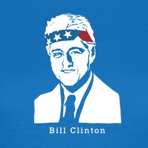 President Bill Clinton amerikanske Patriot Vintage - T-skjorte for kvinner