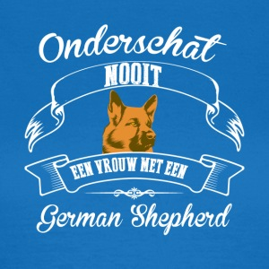 German Shepherd - T-shirt dam