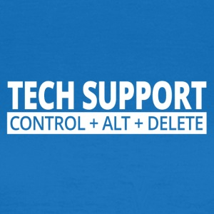 tech support - Vrouwen T-shirt
