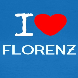 I LOVE FLORENZ - Frauen T-Shirt