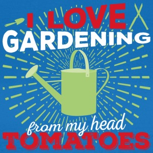 I love gardening from my head tomatoes! (Light) - Women's T-Shirt