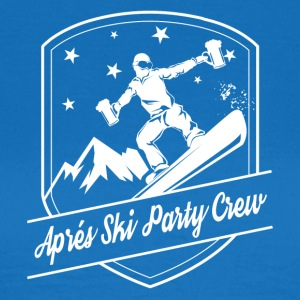 After Ski Party Crew - Naisten t-paita