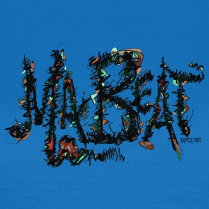 MA BEAT brygning illustrationer ved BEATZ.Art font design - Dame-T-shirt