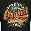 60 Years Original since 1957 - RAHMENLOS Birthday Shirt Design - Frauen T-Shirt