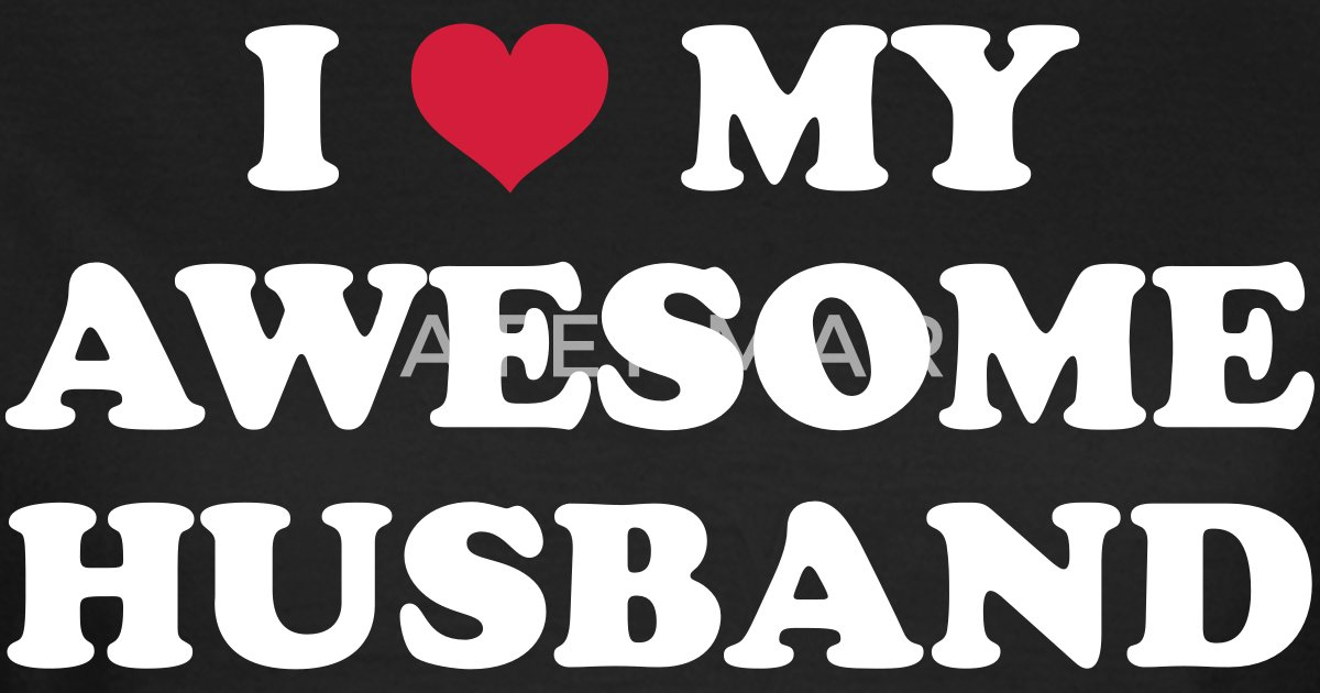 I Love My Husband Vrouwen T Shirt Spreadshirt
