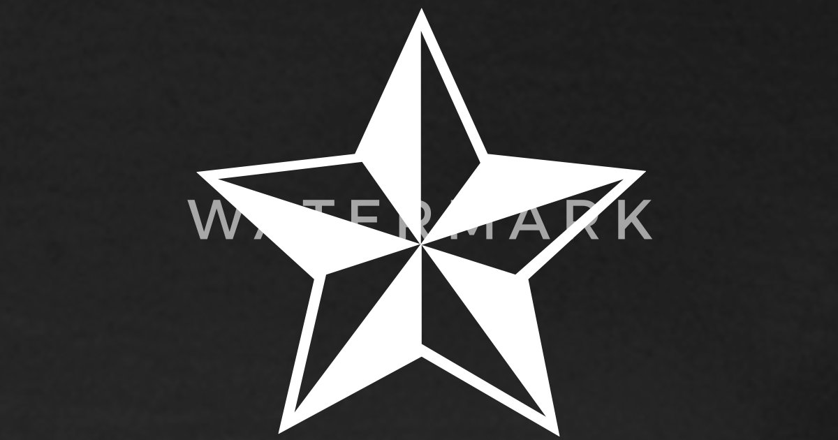 Nautische Sterne Outlaw Oldschool Tattoo Nautical Stars von Orange ...