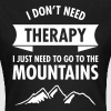 Therapy - Mountains - T-shirt Femme