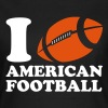 I Love American Football - Women's T-Shirt