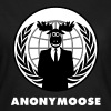 Anonymoose - Anonymous 1 - T-shirt Femme