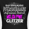 WELSH PONY - Glitzer - Frauen T-Shirt