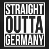 Straight Outta Germany Hip Hop Rap Statement - Frauen T-Shirt