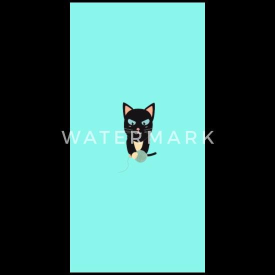 Katt med ball av ull Gravid T skjorte | Spreadshirt