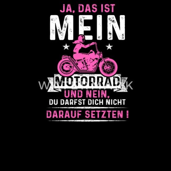 Frau bilder mit motorrad Fraukes