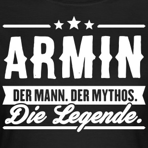 Man Myte Legend Armin - Dame-T-shirt
