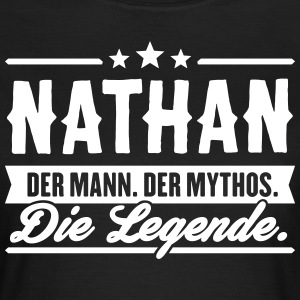 Man Myte Legend Nathan - Dame-T-shirt