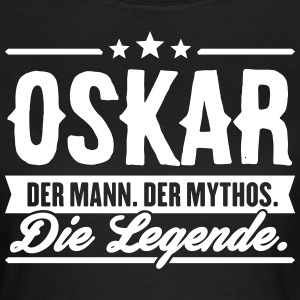 Man Myth Legend Oskar - T-shirt dam