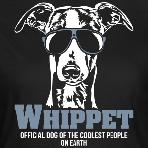 Whippet Coolest people - Frauen T-Shirt