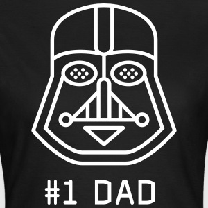 Dad father best fun maske Darth vader star was a fan - Women's T-Shirt