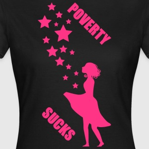 Sterntaler Poverty - Frauen T-Shirt