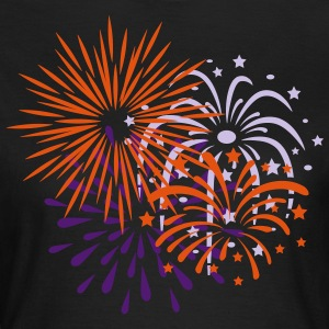 Fireworks, Happy New Year, Party, Festival, Show - Women's T-Shirt
