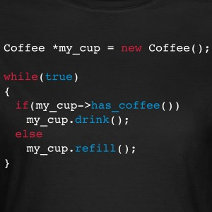 drink_coffe_c++ - Camiseta mujer