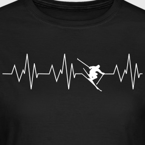 Heart beat ski - Women's T-Shirt