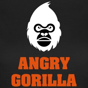 angry_gorilla_white - Dame-T-shirt