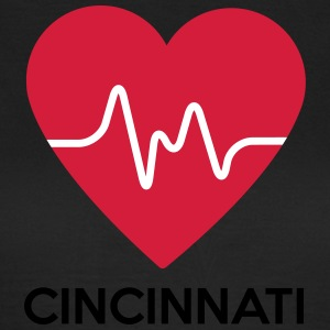 heart Cincinnati - Women's T-Shirt