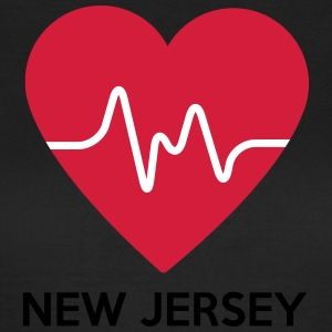 Heart New Jersey - Dame-T-shirt