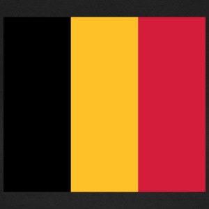 National Flag Of Belgium - Dame-T-shirt