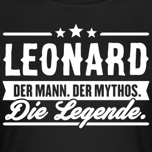 Man Myth Legend Leonard - T-skjorte for kvinner
