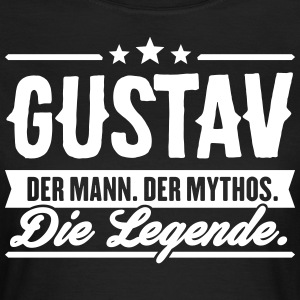 Man Myth Legend Gustav - Women's T-Shirt