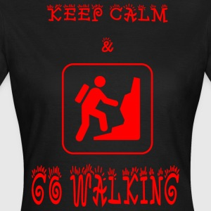 GO_WALKING - Vrouwen T-shirt