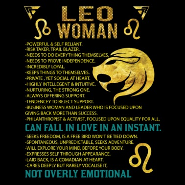 things about leo woman
