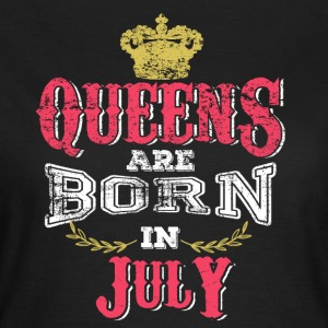 Queens Born July - Women's T-Shirt