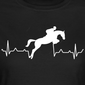 Heartbreak of a rider - Women's T-Shirt