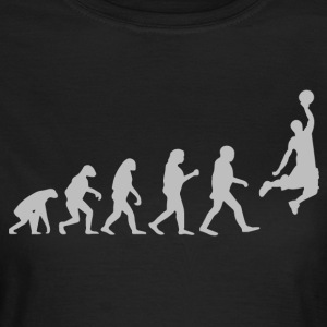 Basketball Evolution - Frauen T-Shirt