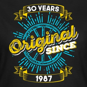 30th birthday 1987 - Women's T-Shirt