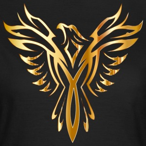 Like Phoenix from the ashes gold golden fenix - Women's T-Shirt